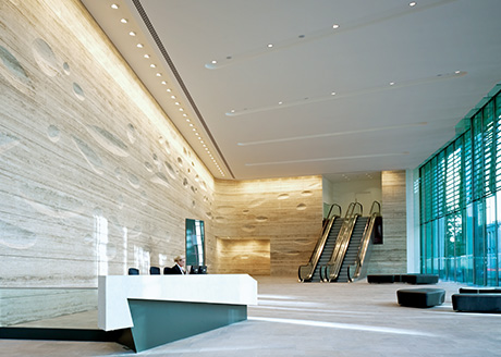 20 Gresham Street, City of London. Architect: KPF; Electrical Consultant: Hilson Moran